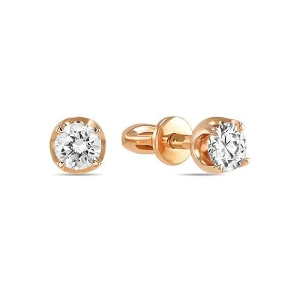 Серьги с бриллиантами E01-D-SOL41-040-G3