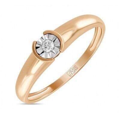Кольцо с бриллиантом R01-D-R300251DIA