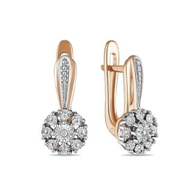 Серьги с бриллиантами E01-D-PL-34701