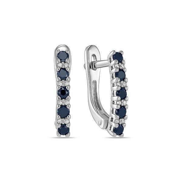 Серьги с бриллиантами E01-D-L-35399-B-2