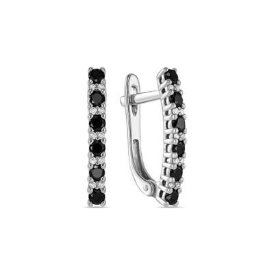 Серьги с бриллиантами E01-D-L-35399-B