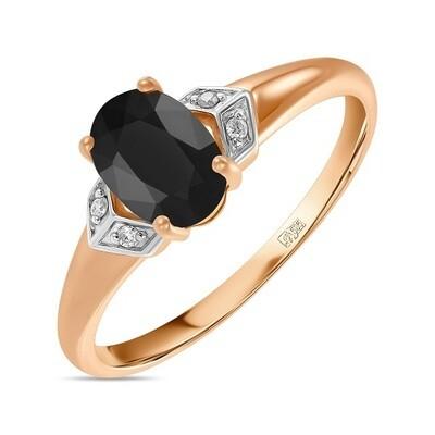 Кольцо с сапфиром R01-D-L-35421-B