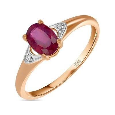 Кольцо с рубином R01-D-L-35420-RO