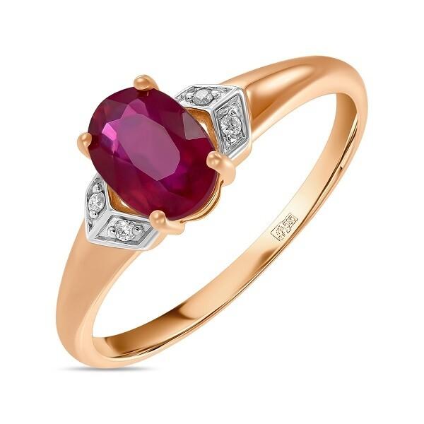 Кольцо с рубином R01-D-L-35421-RO