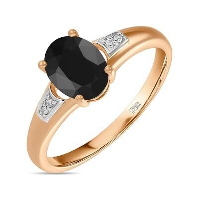 Кольцо с сапфиром R01-D-L-35422-B