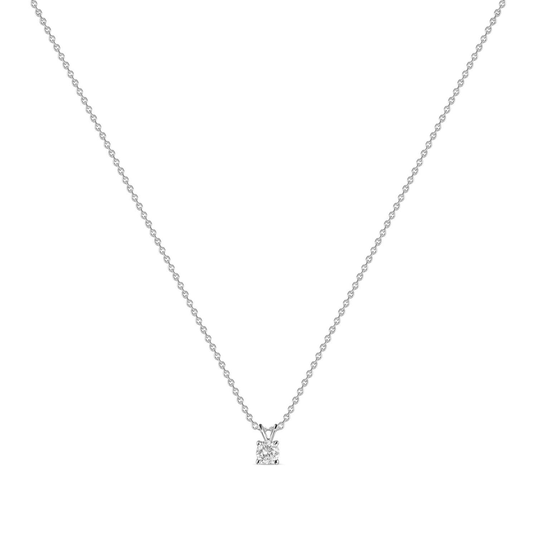 Колье с выращенными бриллиантами N01-C-MLN18-030