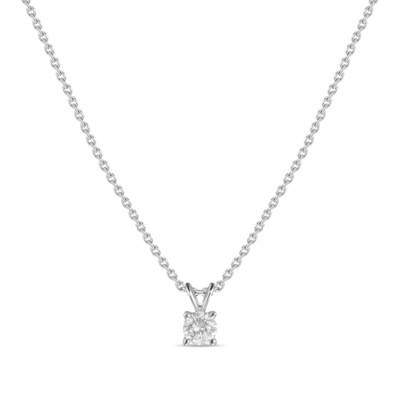 Колье с выращенными бриллиантами N01-C-MLN18-015