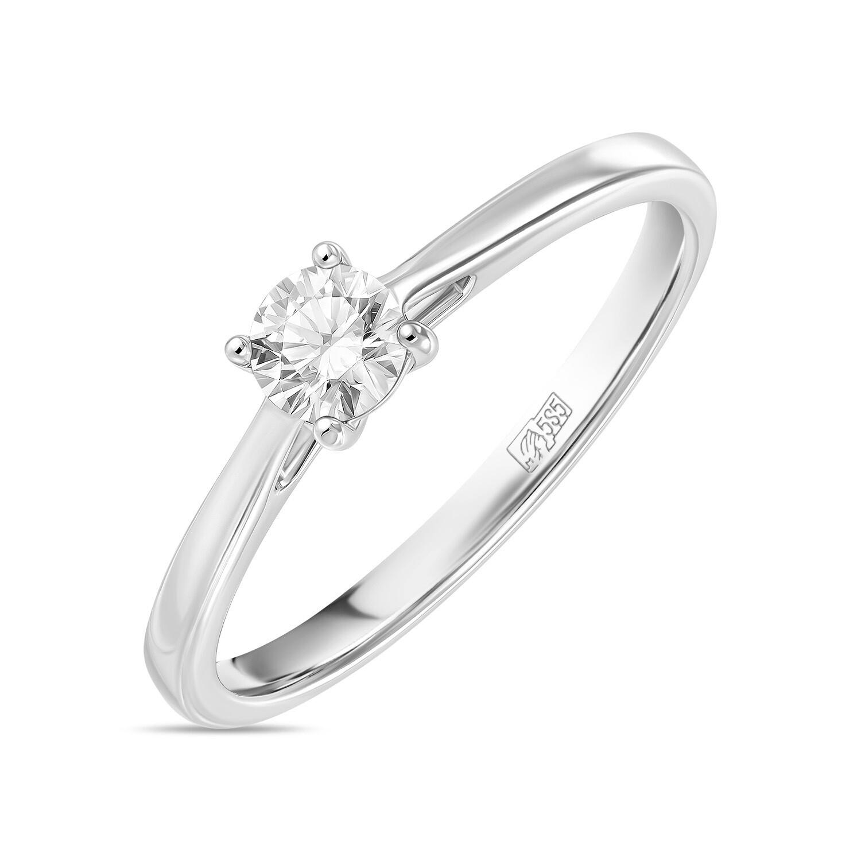 Кольцо с выращенным бриллиантом R01-C-L-MLN35712