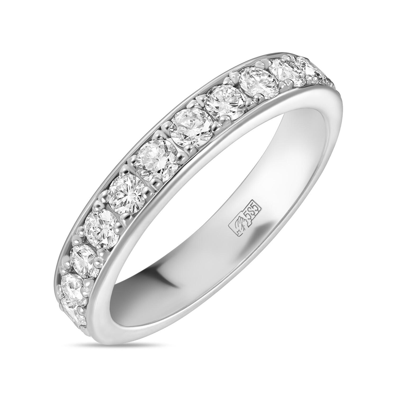 Кольцо с выращенным бриллиантом R01-C-L-MLN35711