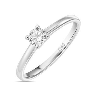 Кольцо с выращенным бриллиантом R01-C-L-MLN35716
