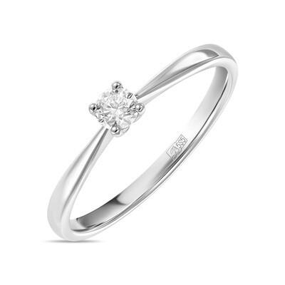 Кольцо с выращенным бриллиантом R01-C-L-MLN35718