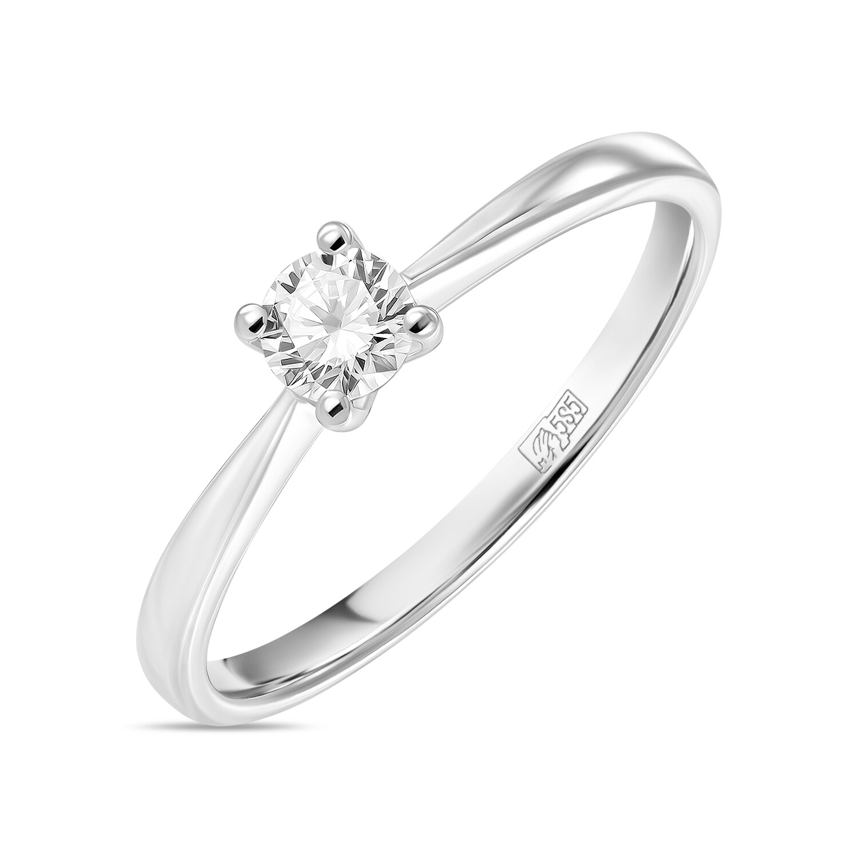 Кольцо с выращенным бриллиантом R01-C-L-MLN35717