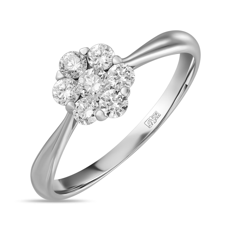Кольцо с выращенными бриллиантами R01-C-L-MLN35731