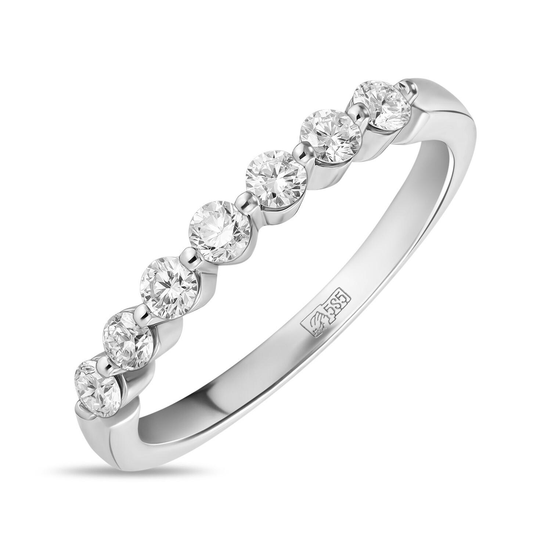 Кольцо с выращенными бриллиантами R01-C-MLN446-035