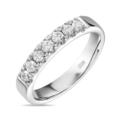 Кольцо с выращенными бриллиантами R01-C-MLN486-035