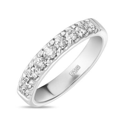 Кольцо с выращенными бриллиантами R01-C-MLN486-045