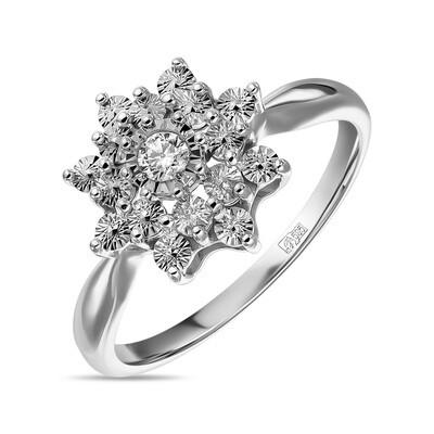 Кольцо с бриллиантом R01-D-PL-33739