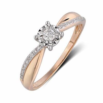 Кольцо с бриллиантами R01-D-RR26027ADI-R17