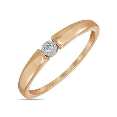 Кольцо с бриллиантом R01-D-IGR-31627
