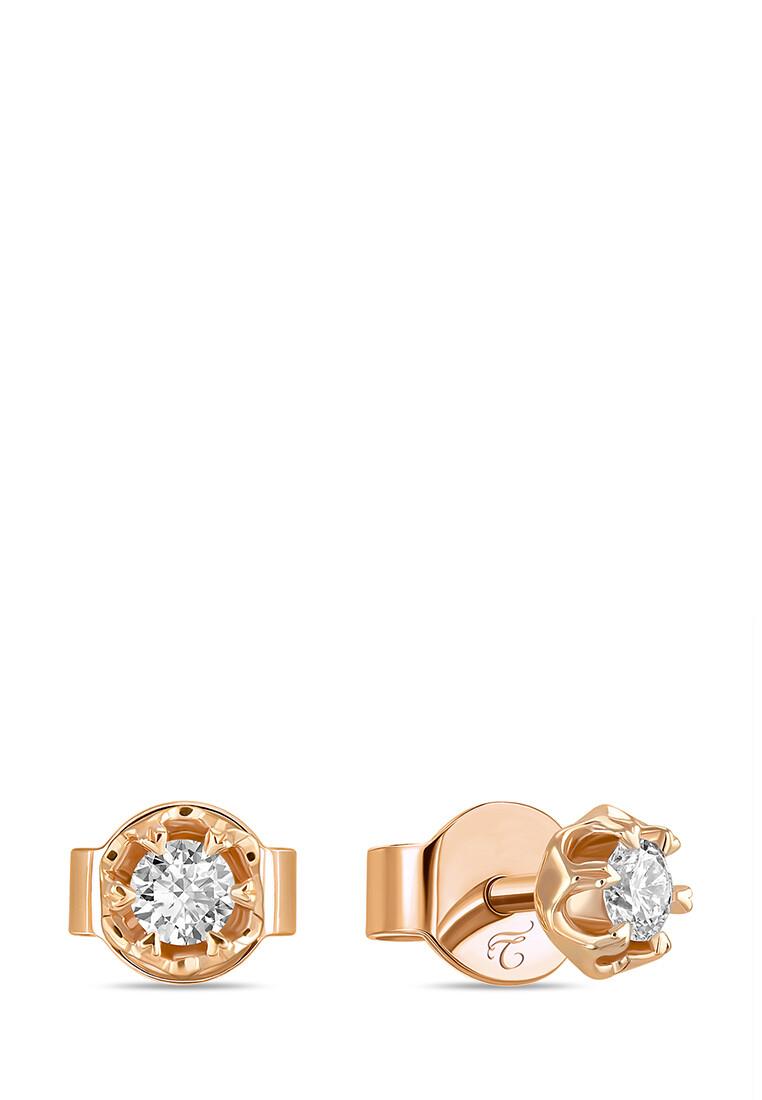 Серьги с бриллиантами E01-D-SOL30-010-G3