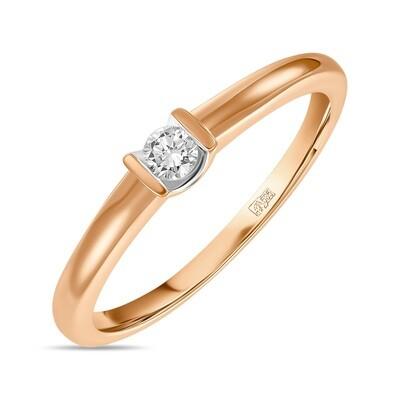 Кольцо с бриллиантом R01-D-IGR-27822