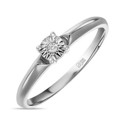 Кольцо с бриллиантом R01-D-L-PL-35232