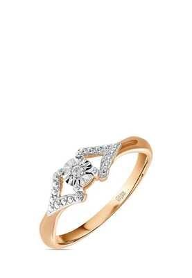 Кольцо с бриллиантом R01-D-L-PL-34921