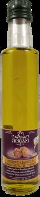 OLIO AROMATIZZATO AL TARTUFO BIANCO 250 ML