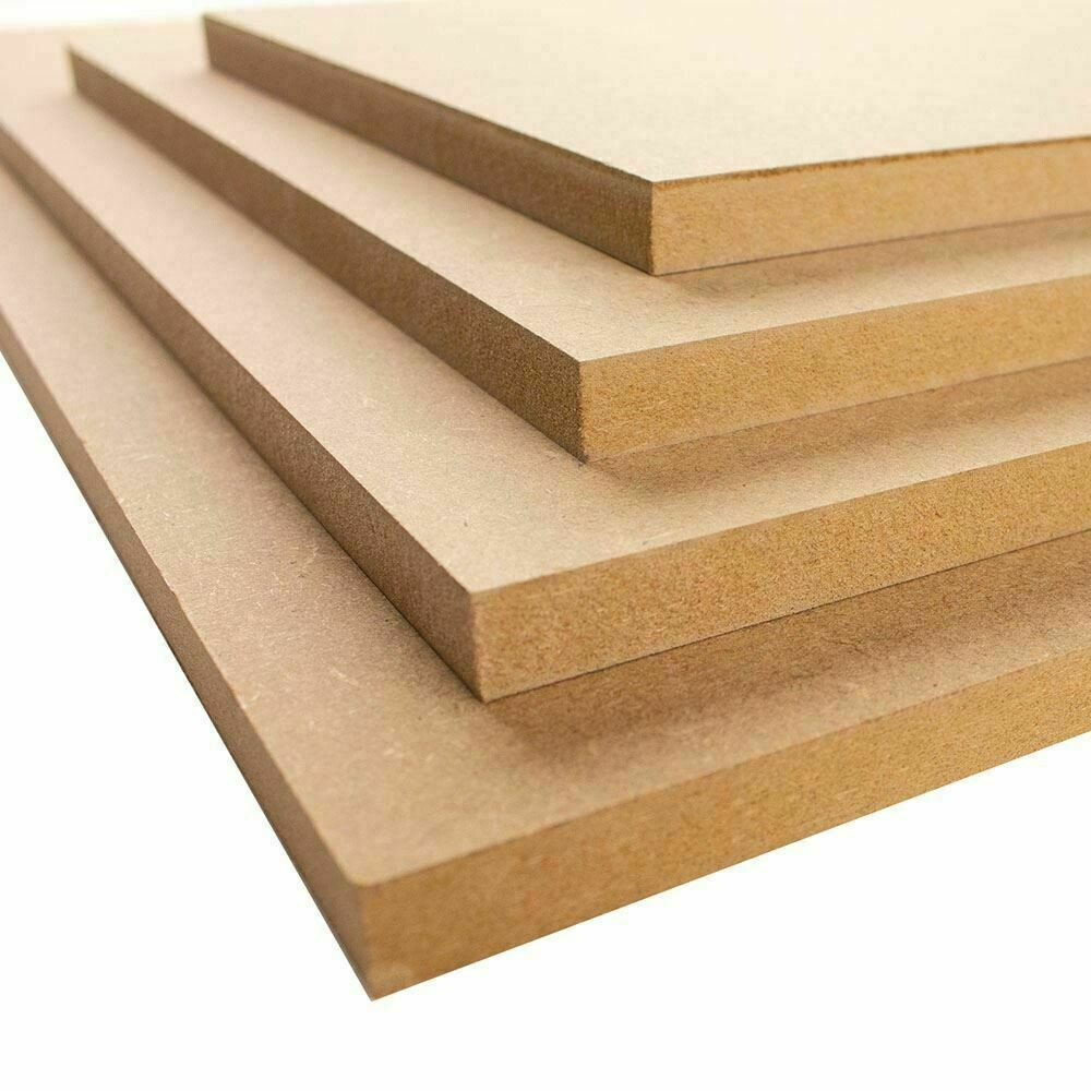 A5 MDF 148mm x 210mm sheets boards 2mm, 3mm, 4mm, 6mm, 9mm, 12mm