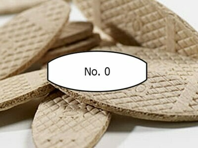 WOODEN BISCUITS JOINTING LAMELLO  DOWELS No 0, No 3, No 10, No 20 GROOVE DEPTH