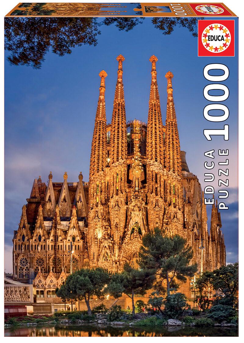 PUZZLE 1000pcs Sagrada Família - EDUCA