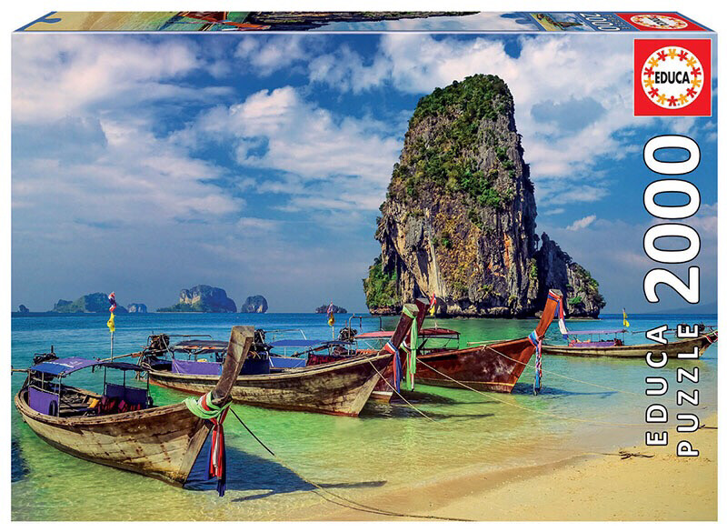 PUZZLE 2000 pcs Krabi Tailândia - EDUCA