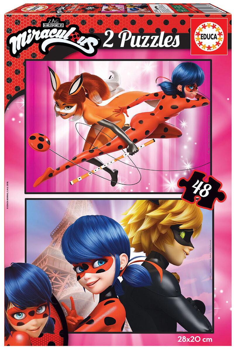 PUZZLE 2x48pcs Lady Bug - EDUCA