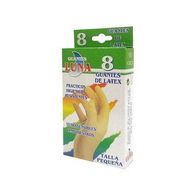 Luva de Proteção em Latex - 8 UNI - Tamanho Pequeno
