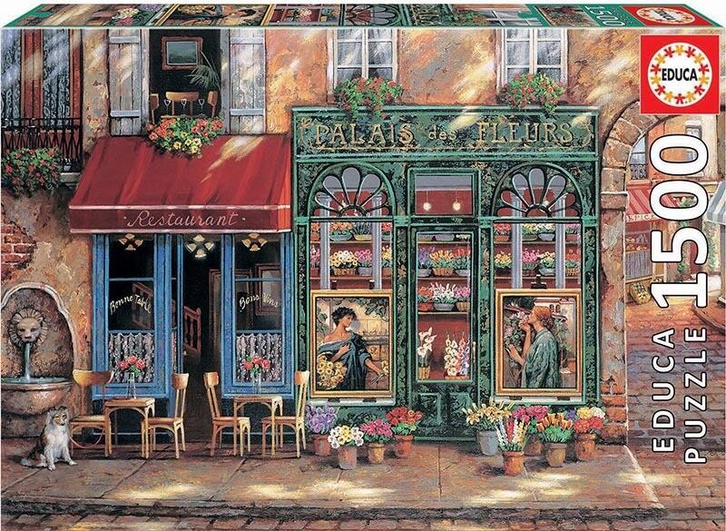 PUZZLE 1500 pcs Palais des Fleures - EDUCA