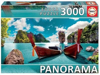 PUZZLE 3000 pcs Phuket, Tailândia  - EDUCA