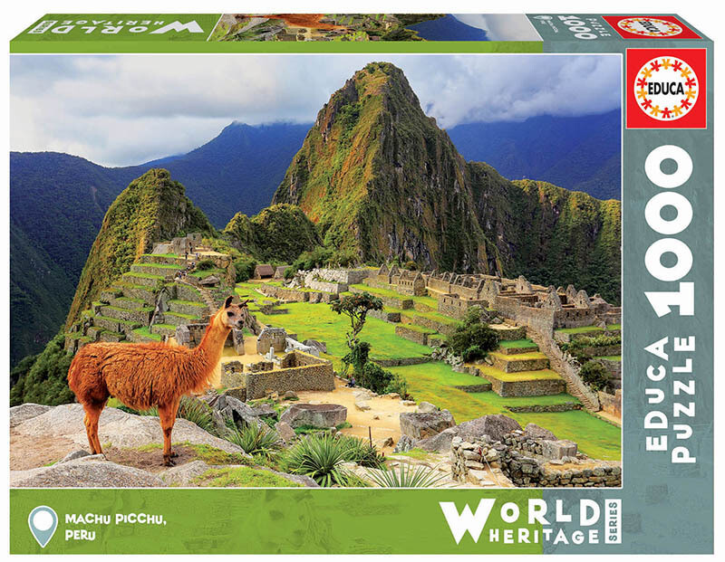 PUZZLE 1000pcs Machu Picchu, Perú - EDUCA