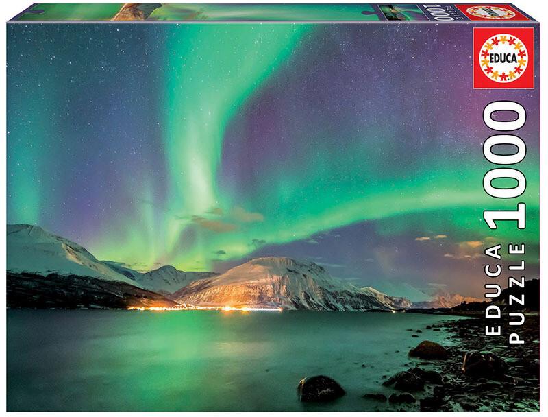 PUZZLE 1000 pcs Aurora Borealis - EDUCA
