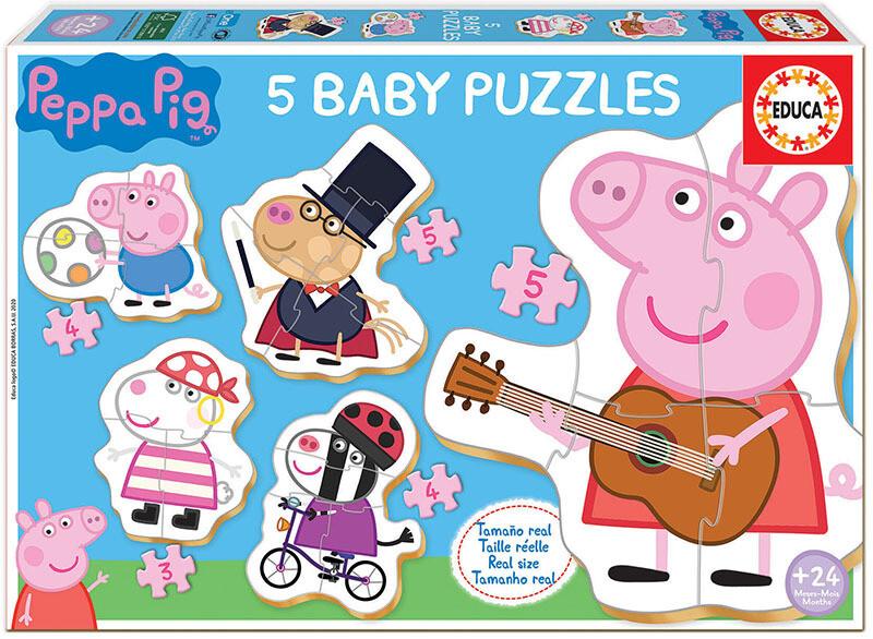 BABY PUZZLES Peppa Pig - EDUCA