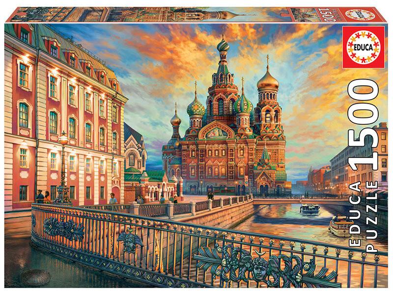 PUZZLE 1500 pcs São Petersburgo - EDUCA