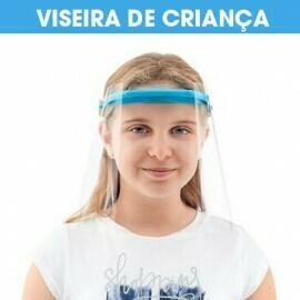 VISEIRA Protetora Transparente Criança