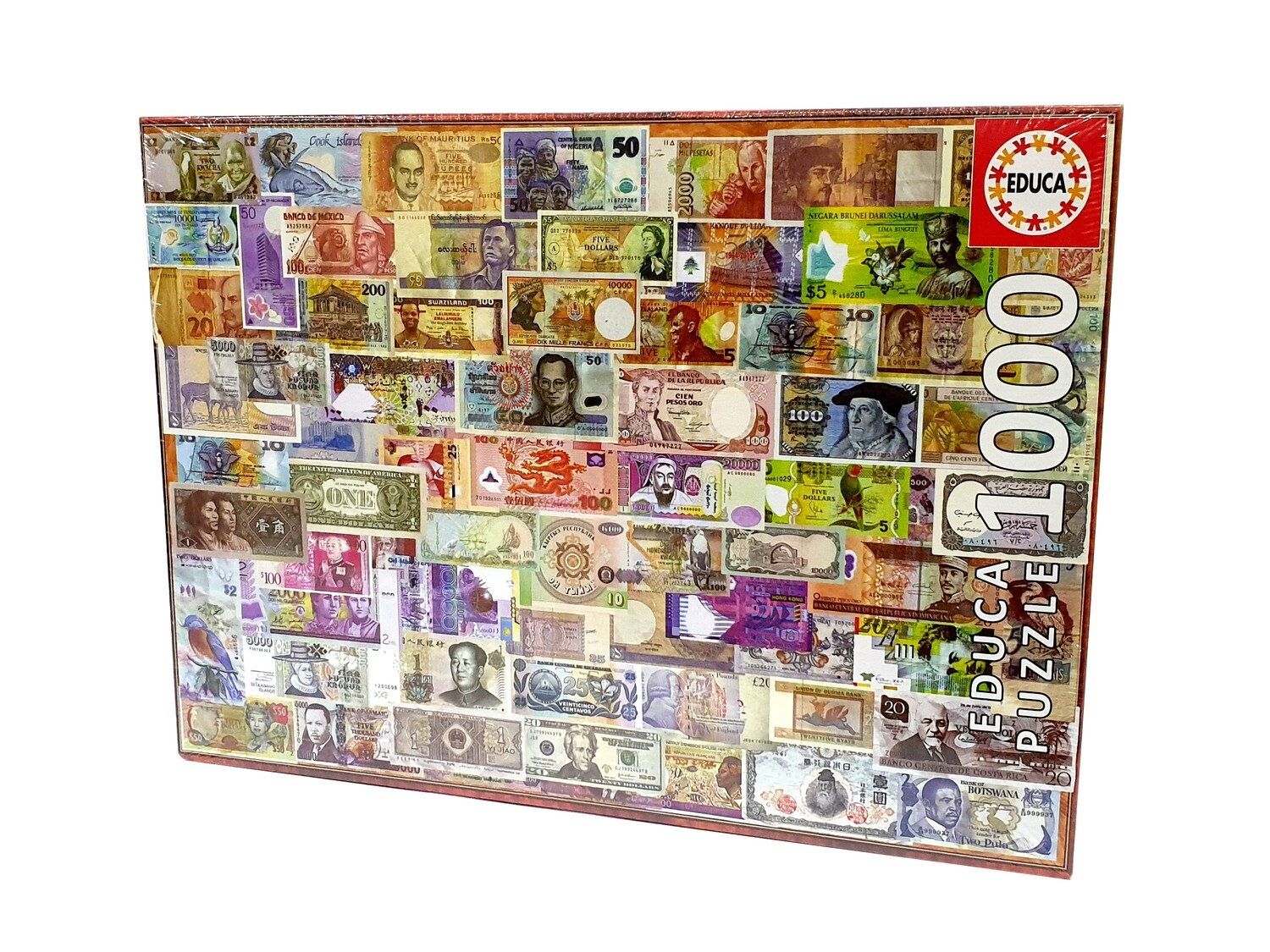 PUZZLE 1000pcs Notas do Mundo - EDUCA
