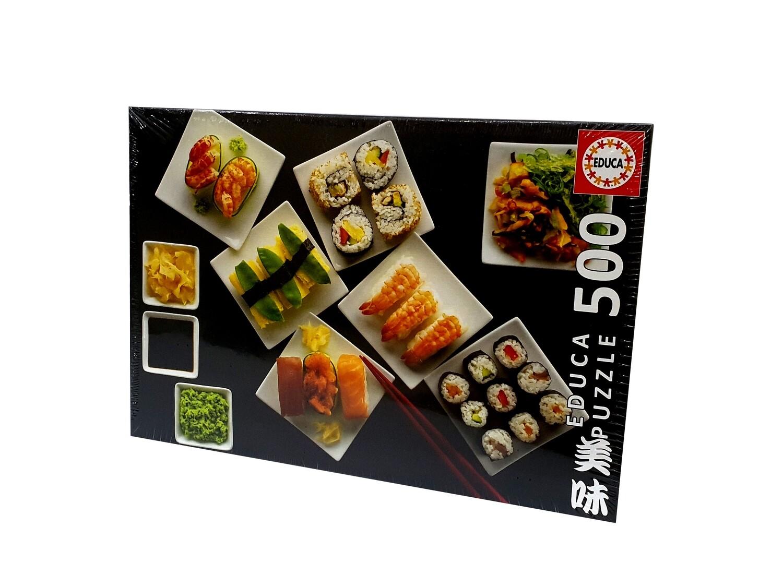 PUZZLE 500pcs Sushi - EDUCA