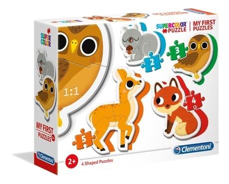 PUZZLE (Meu 1º Puzzle) Animais da Floresta - CLEMENTONI
