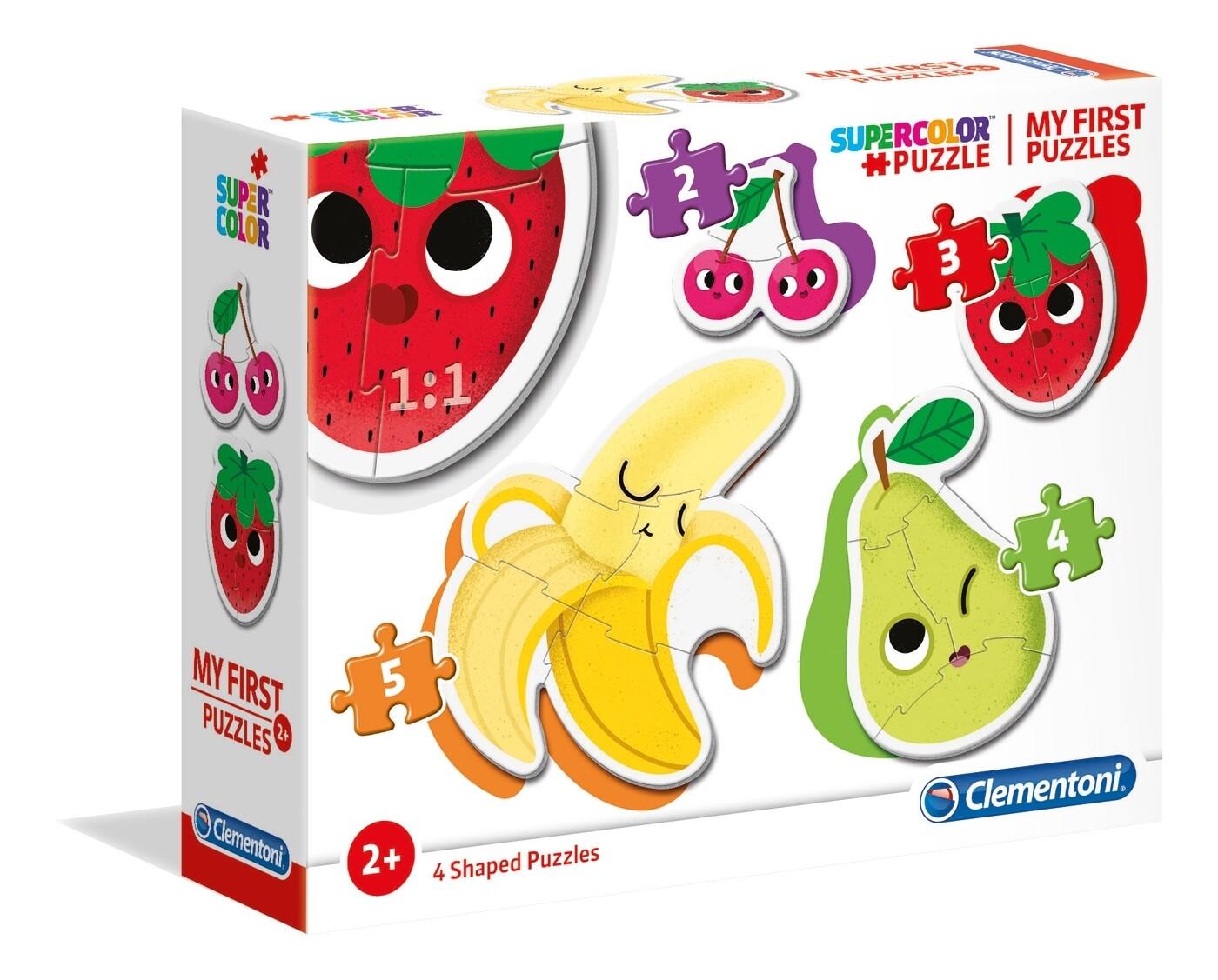 PUZZLE (Meu 1º Puzzle) Frutos - CLEMENTONI