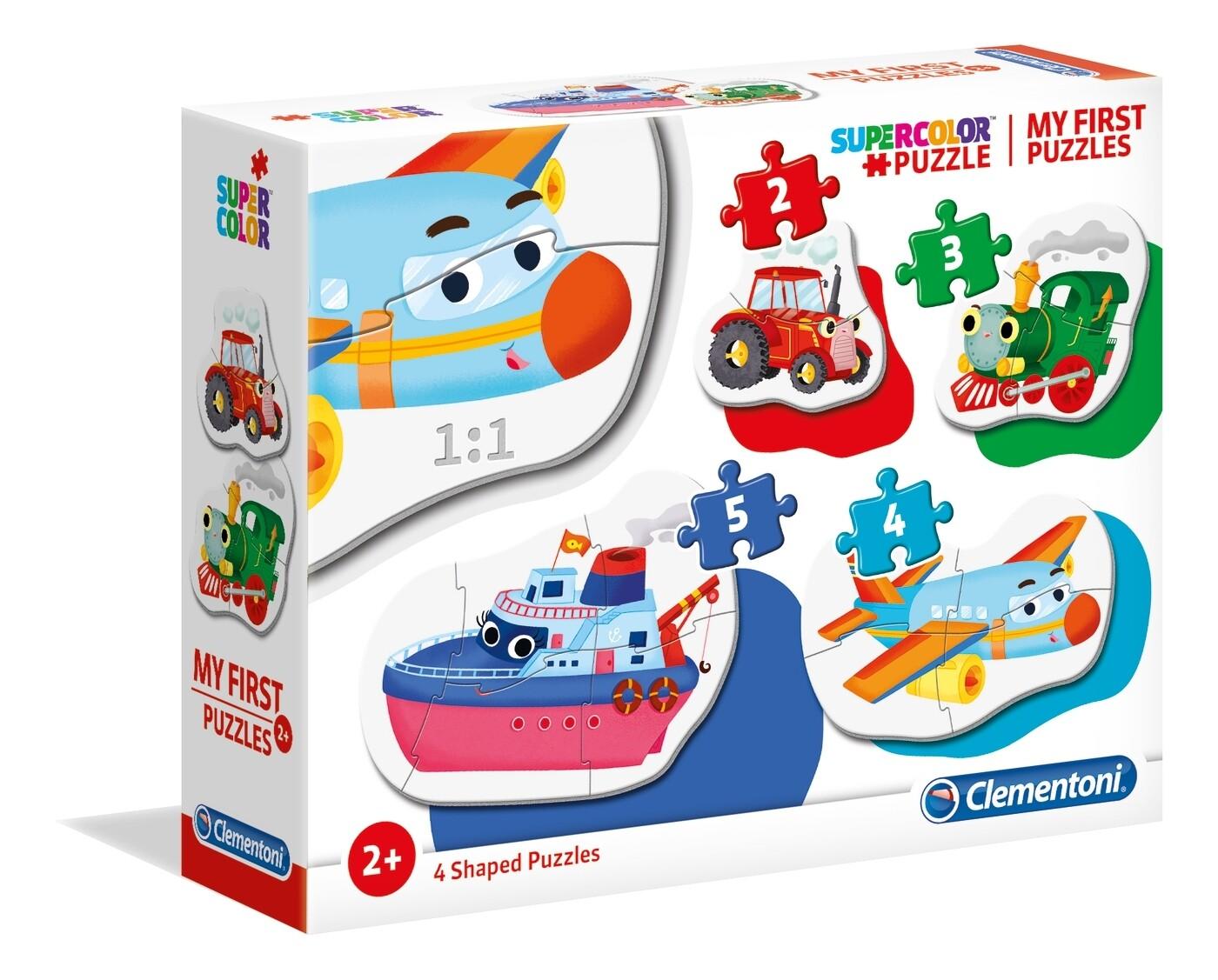 PUZZLE (Meu 1º Puzzle) Transportes - CLEMENTONI