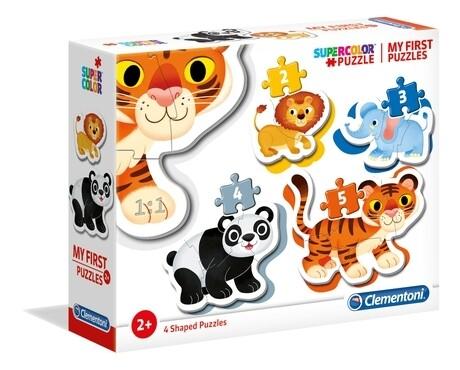 PUZZLE (Meu 1º Puzzle) ANIMAIS SELVAGENS - CLEMENTONI