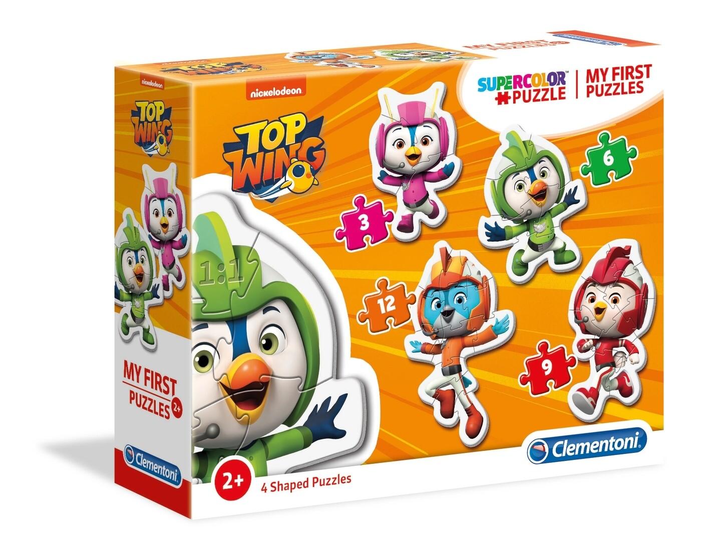 PUZZLE (Meu 1º Puzzle) Top Wing - CLEMENTONI