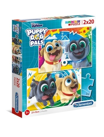 PUZZLE Bingo & Rolly 2x20 pcs - CLEMENTONI