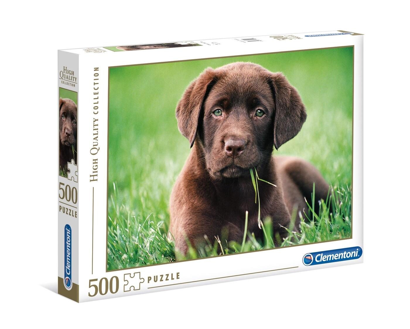 PUZZLE 500 HQ Chocolate Puppy - CLEMENTONI